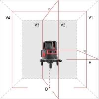 Лазерный уровень ADA PRO Liner 4V Set photo2