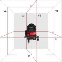Лазерный уровень ADA ULTRALiner 360 4V Set photo3