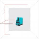 Лазерный уровень X-Line Helper 2D photo3