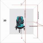 Лазерный уровень Instrumax REDLINER 2V photo2